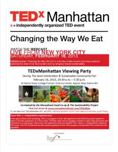 TEDxManahatten Viewing Party Monadnock Food Co-op FINAL