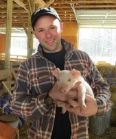 Co-op Staff Member, Matt West, traveled to Mayfair Farm this week.